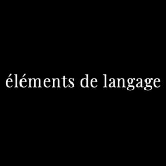 éléments de langage